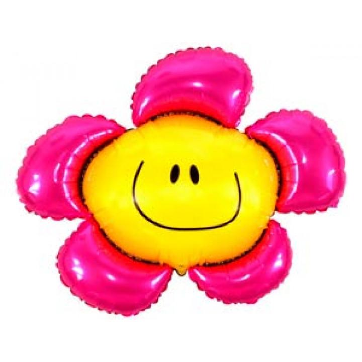 Цветок розовый