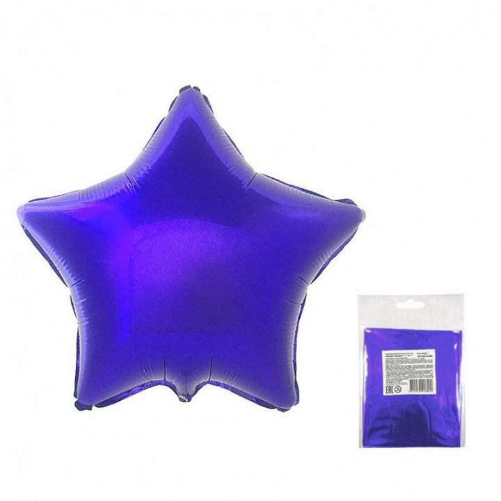 Звезда Фиолетовая в упаковке 5 шт