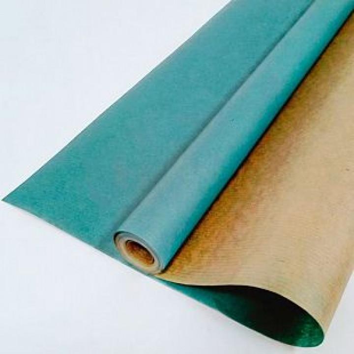 Крафт-бумага Морская волна