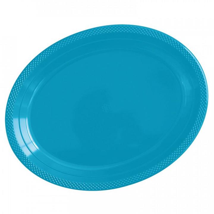 Тарелки пластиковые Делюкс Карибы  5 шт