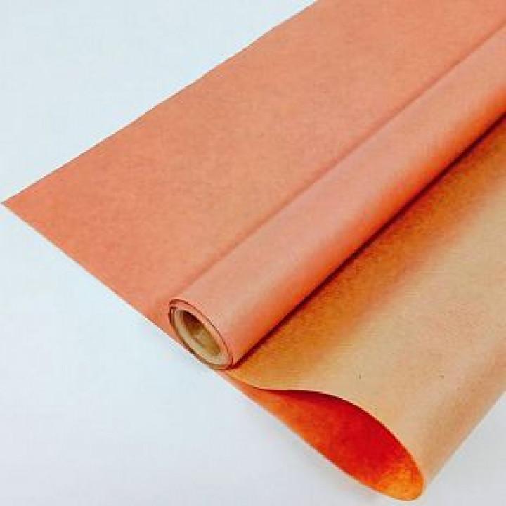 Крафт-бумага Персиковая