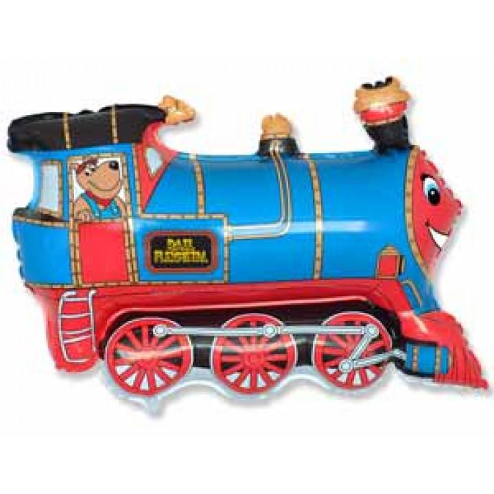 Поезд голубой