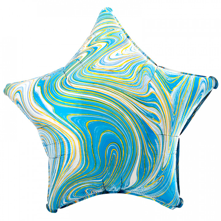 Звезда Голубая мрамор