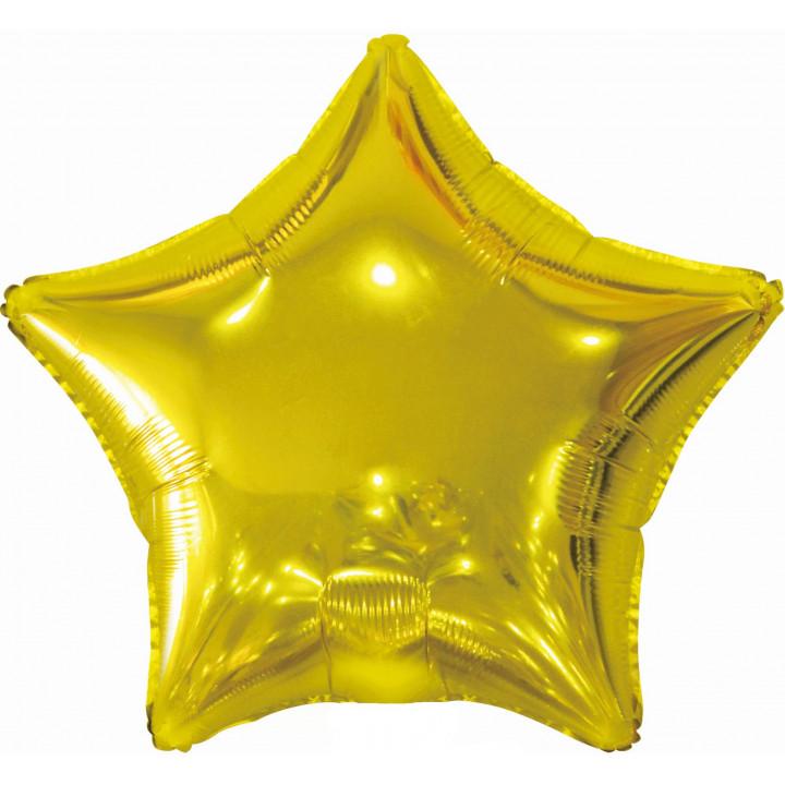 Звезда Золотая фольга