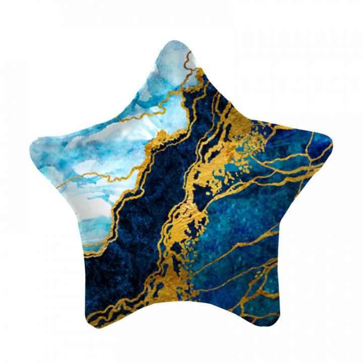 Звезда Синяя мрамор