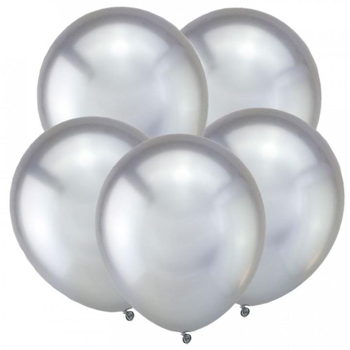 Зеркальные шары, Серебро