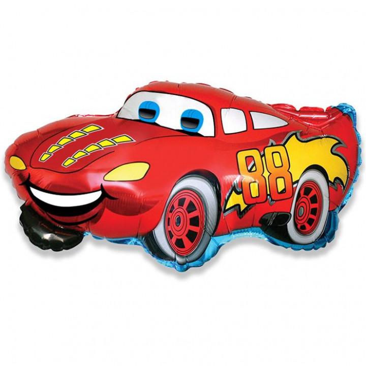 Гоночная машина Красная