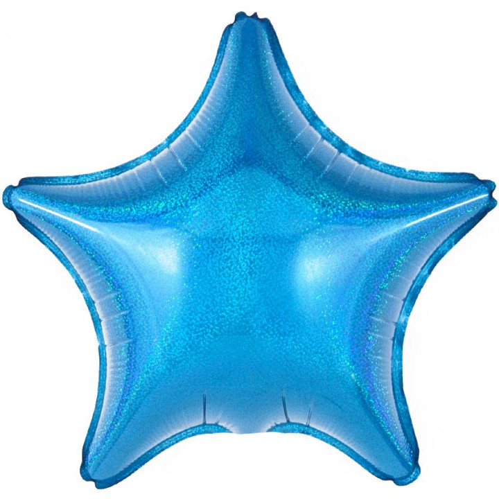 Звезда Синяя голография