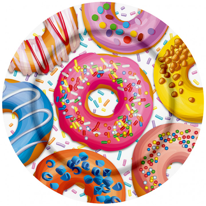 Тарелки бум Пончики