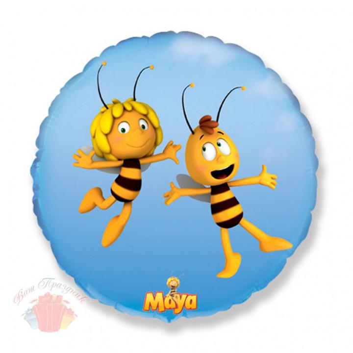Круг Летящая пчела Майя